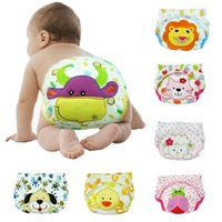 12pcs/lot-4 designs 3 sizes/Baby cotton potty training pants/modeling cloth diaper pants/nappies/training underwear