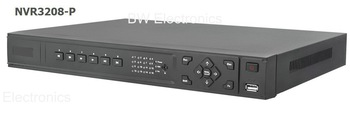 Wholesale 8 Channel Network Video Recorder, 8ch NVR@HD 1080P video view and many brands IP camera, NVR3208-P Support POE