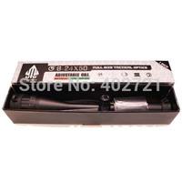 Free Shipping! 1Pc Leapers UTG 6-24X50 Full Size AO Mil-dot RGB Zero Locking/Resetting Scope Rifle Scope Free Shipping!