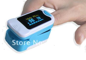New Finger Pulse oximeter ,OLED screen ,SPO2 CE,HRT monitor