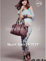 Free shipping !!! 4 colors ladies' canvas handbag promotion !!!  Fashion shoulder bag /casual style student bag