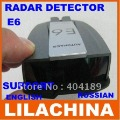 New arrivial!E6  Vehicle Radar detector car support English and Russian LCD display free shipping
