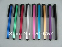METAL Wholesale factory price capacitive touch pen, stylus touch pen for ipad 2, iPhone 4, 8000pcs free shipping