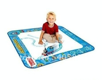 Free shipping discount American Thomas Aquadoodle Aqua Doodle Drawing Mat&1 Magic Pen/Water Drawing Replacement Mat 80*80cm