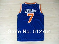 Free Shipping,#7 Carmelo Anthony Rev 30 New Material Basketball jersey,Embroidery logos,Size 44-56