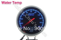 Blue + White Ligth 2.5 INCH 60MM Defi Gauge, Defi BF with LCD, Water Temperature Water Temp Gauge Car Meter Blue and White Light