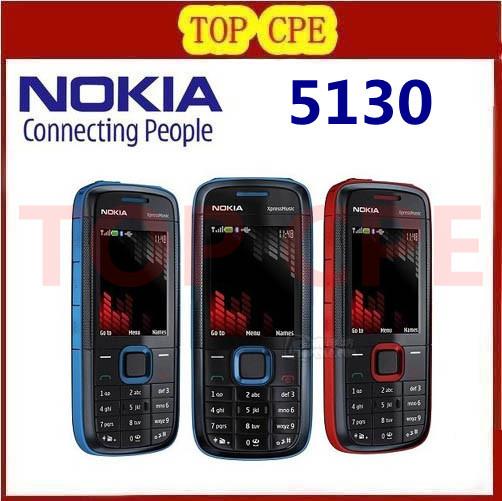 free shipping Refurbished Nokia 5130 original unlocked qual band mobile phone with multi-languages(China (Mainland))