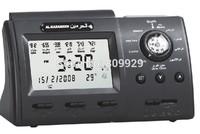 Automatic  aomplete azan for all prayers Islamic Azan table  clock Alarm Clock Muslim prayer azan clock