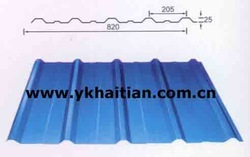 HT Colored Steel Sheet Roof Tile Roll Forming Machine(China (Mainland))