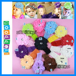 Fashion flower grip for baby girls&#39; clothes /cap / hair or headband, 11.5cm beautiful peony design, HIGH QUALITY(China (Mainland))