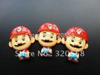 "Lovely Super Mario1.2""   FlatBack Resins Scrapbooking Embellishment 50pcs Free Shipping"