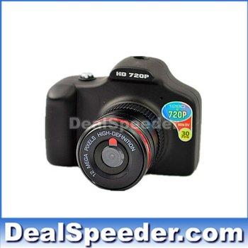 Free Shipping Newest 12MP Digital Camera,Car DVR,Car Black Box, Mini DVR Camcoder HD 720P Video/Photograph/Motion Detection