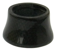 Gloss 3K,Carbon Tapered Spacer,1-1/8'',28.6mm,25x46mm,22g