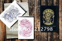 Tattoo Supplies  China HETATTOO KOI SKETCH FISH Tatto Flash Design Reference Book A4 size 11&quot;