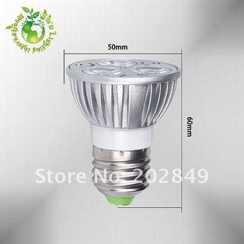 Surprise price] TOP1 E27 HIGH POWER 3W LED SPOTLIGHT BULB LED LAMP free ship dimmable GU10 LED E27 LED