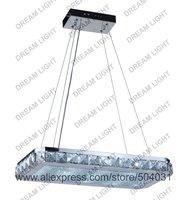 modern crystal led light L560*W280*H520mm(L22*W11*H21inch) 16 lighting crystal chandelier lighting