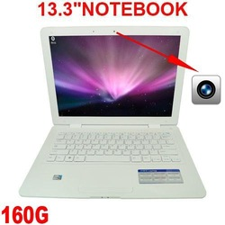 "A Ultra Slim 13.3"" 2GB Ram,320GB HDD,Webcam,2012 Best Laptop Notebook computer Windows XP or Windows 7 Optional Bluetooth(China (Mainland))"