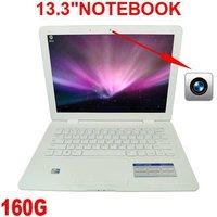 "A Ultra Slim 13.3"" 2GB Ram,320GB HDD,Webcam,2012 Best Laptop Notebook computer Windows XP or Windows 7 Optional Bluetooth"