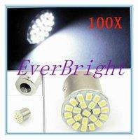 100 X S25 22 LED 1156 BA15S 1206 22 SMD Auto Car Turn Lamp Brake Tail Parking Light Parking Light