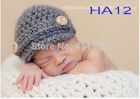 free shipping,1pcs/lot Baby Crochet newsboy Hats handmade knitting hats Cap Toddler hats Beanies baby girl caps Girls caps