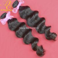 Brazilian virgin hair loose wave weft 100% virgin human hair 3.5oz/pc queen hair products hair extension 2pcs/lot free shipping