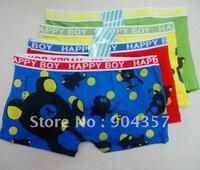 Wholesale Cotton Boys Underwear Bear Cartton Kids Underpants Panties Shorts Pants Colorful Cartoon Style