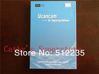 EMS Free Shipping Genunie Ucancam V9 Engraving Software V9 (standard version) CNC Router Engraving