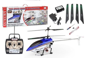 Big helicopter 105cm Deluxe 3.5ch Gyro System RTF QS8005 RC Helicopter qs 8005 with LED lights