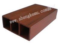 100*40 square Wood  wood plastic floor waterproof baord