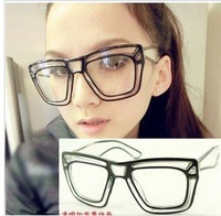clear lens  glasses euro style fashion big frame  eyewear  brand new wholesale