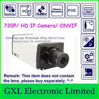GXL,1 Megapixel IP Camera,MPEG-4/H.264 720P,Low-illumination,CMOS Sensor,Network Bullet Security Camera,C3QA720PL (3720QP)