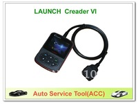 LAUNCH Creader VI code reader OBDII  EOBD CAN free shipping
