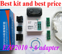 Best Sets Suit For All  24 25 93 EEPROM Package New  EZP2010 High Speed  USB Bios SPI Programmer +  adapters