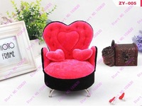 Free shiping !!!high-quality Sofa Ring & Earring Display Plaster Jewelry Displays Rack/Jewelry box With a mirror (RYST ZY-005)