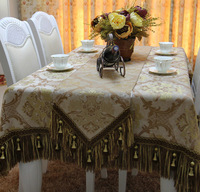 New arrival high quality chenille jacquard table runner