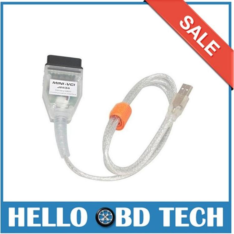 MINI VCI J2534 TOYOTA MINI VCI Techstream 8.10.030 auto diagnostic Connector(China (Mainland))