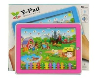 Free shiping, ipad table computer learning Machine, Y-pad interesting farm kid learning machine, intelligence/educational toys