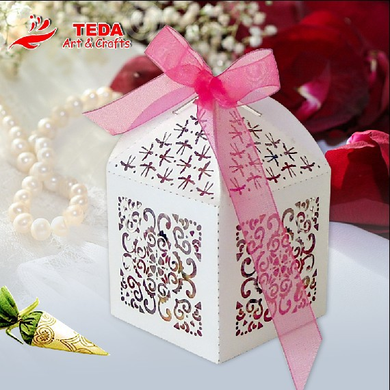 Wedding Party Candy Box Favor Gift Boxes,Ribbon supply free(China (Mainland))