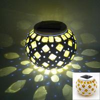 Good Halloween Decoration Novelty LED Solar Light,Outdoor Camping Lamp,Waterproof Hand Lantern with Light Sensation.