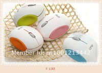 2012 new model newest fashionable - wireless mouse and mice 2.4G receiver,free shipping