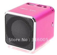Micro SD TF USB Mini portable speaker Music MP3 Player FM Radio Free Shipping Dropshipping