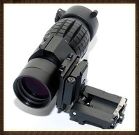 Tactical 3X Magnifier Scope Sight with Flip To Side Mount for 20mm Rail
