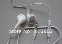 Free shipping hot high quality genuine wired control Mic Headphone headset earphones for iphone 4s 4gs
