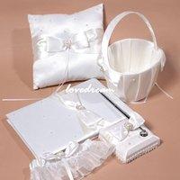 Sep sale ring pillow / Guest Book / Pen Set / Flower girl basket /Garter/wedding accessories/wedding decoration/Wedding Set