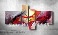 Framed Free Shipping!!High Quality Modern Abstract Oil Painting on Canvas Art home decoration christmas gift 537 picture on wall