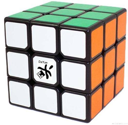 Dayan V 5 ZhanChi Black 3x3x3 Speed Puzzle Magic Cube Black (55mm ) V 5(China (Mainland))