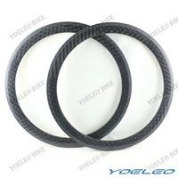 EN Standard 700C 50mm Carbon Tubular Rims In 23mm Width With 3K/12K/UD Weave Glossy/Matte