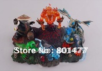 Set of 6pc WOW WORLD OF WARCRAFT PET Wrath of the lich king Game Figures 5.5cm-11.5cm FGW1,free shipping