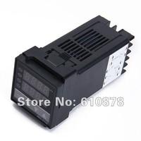 Free Shipping, REX-C100 Dual Digital F/C PID Temperature Controller Control Thermostat 0 to 400 Deg C