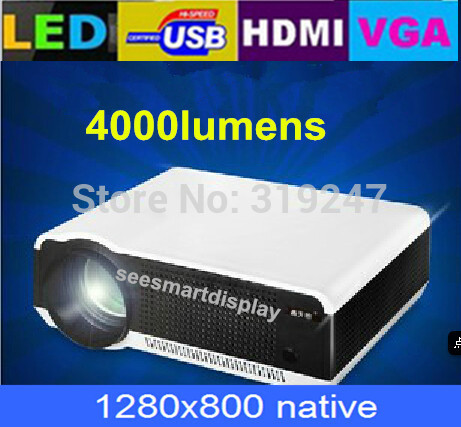 New Arrival ! High Brightness Best TV Projector With HDMI+USB+VGA,Hot Selling With Competitive Low Price! Free 8GB Disk(China (Mainland))